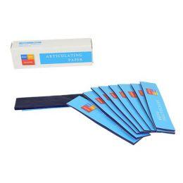 Artikulačních papír Pol-Intech modrý tenký 30um