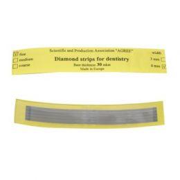 Diamantové kovové leštící pásky 5ks jemné
