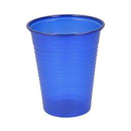 Jednorázové sklenice barevné 180ml 100ks modré