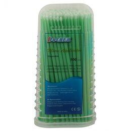 Mikroaplikátorové kartáče 100ks zelené 2.0mm