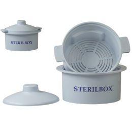 Nádoba na sterilizaci vrtáků v autoklávu Sterilbox