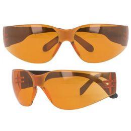 Ochranné brýle UV400 100% oranžové