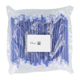 Odsavače vylučovací slin 100ks modré