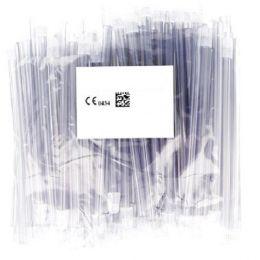 Odsavače vylučovací slin 100ks transparentní