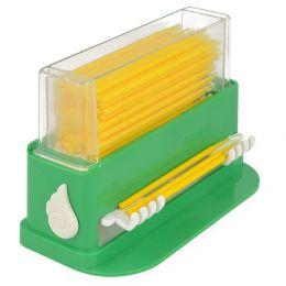 Zásobník na mikroaplikátorem zelený (+ 100ks žlutých Mikroaplikátor zdarma)