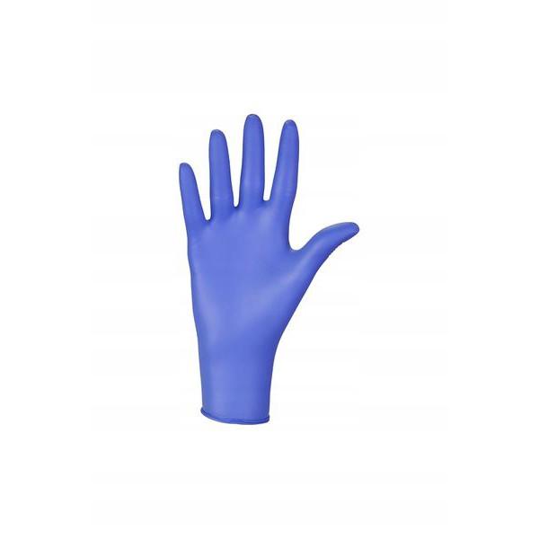 nitrilové rukavice 100ks veľkosť M modré bezpúdrové medicorp.sk
