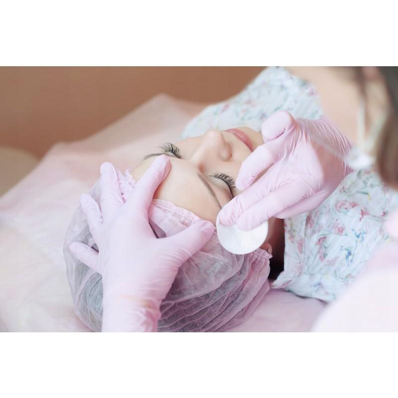 nitrilové rukavice 100ks veľkosť S ružové bezpúdrové medicorp.sk